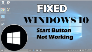 start button not working